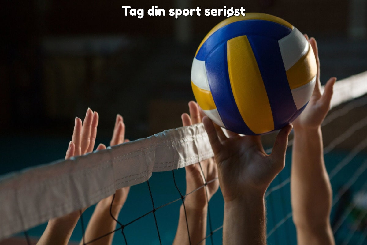Tag din sport seriøst